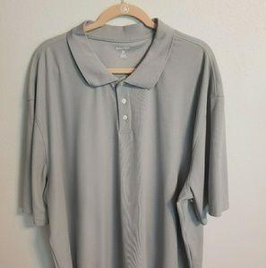 Men's gray polo shirt Bugle Boy sz 3XL (GG0519)